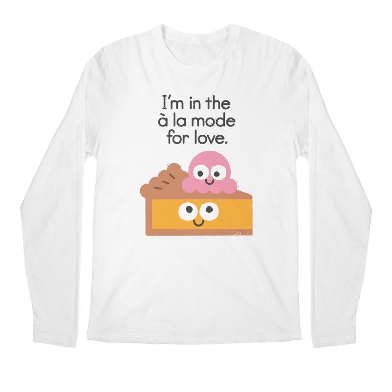 A Relationship Built On Crust Men's Longsleeve T-Shirt by David Olenick