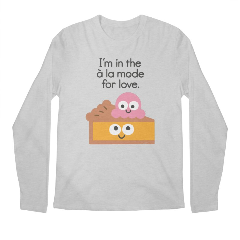 A Relationship Built On Crust Men's Longsleeve T-Shirt by David Olenick