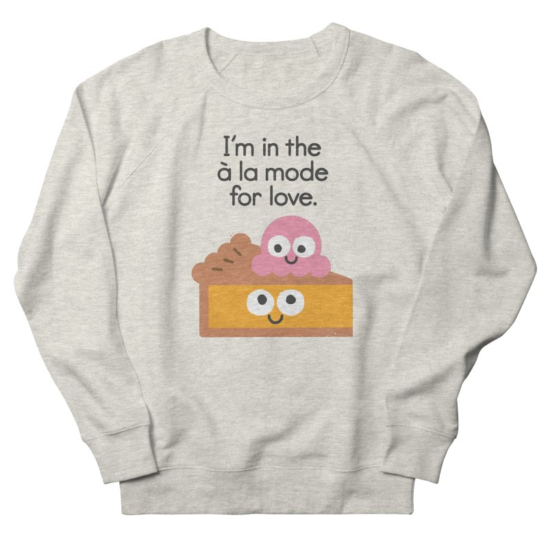 A Relationship Built On Crust Women's French Terry Sweatshirt by David Olenick