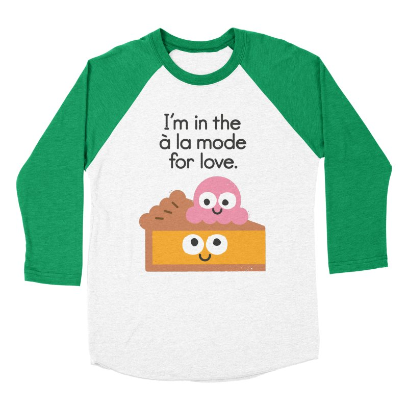 A Relationship Built On Crust Men's Baseball Triblend Longsleeve T-Shirt by David Olenick