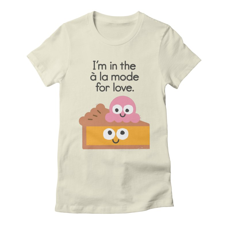 A Relationship Built On Crust Women's Fitted T-Shirt by David Olenick