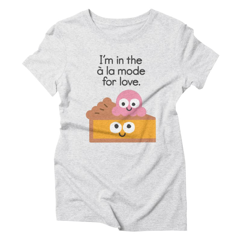 A Relationship Built On Crust Women's Triblend T-Shirt by David Olenick