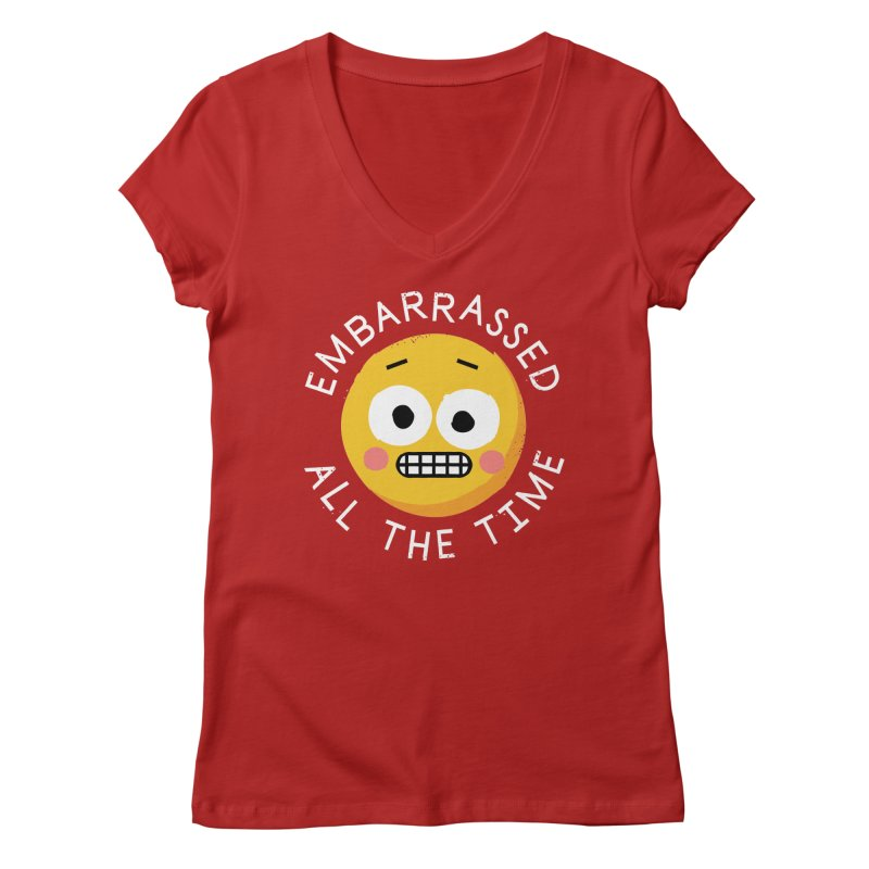 Evermortified Women's V-Neck by David Olenick
