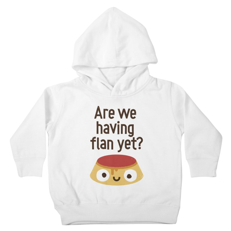 The Proof Is In The Pudding Kids Toddler Pullover Hoody by David Olenick