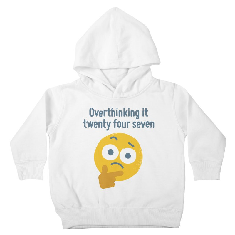 Leave Dwell Enough Alone Kids Toddler Pullover Hoody by David Olenick