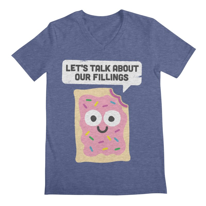 Tart Therapy Men's V-Neck by David Olenick