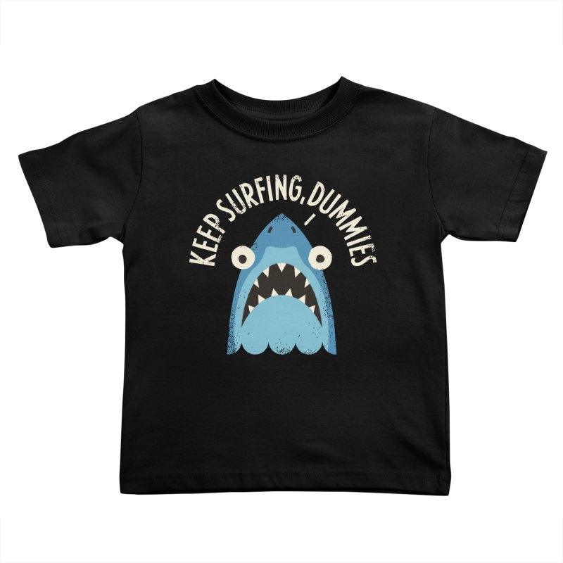 Great White Snark Kids Toddler T-Shirt by David Olenick