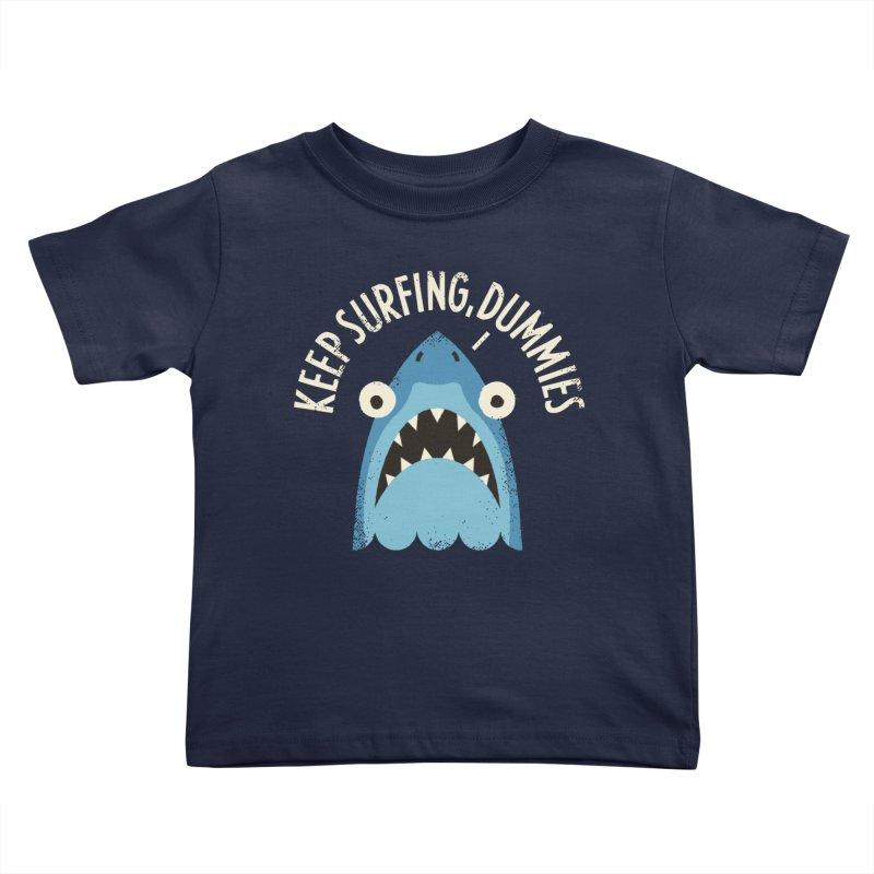 Great White Snark Kids Toddler T-Shirt by David Olenick