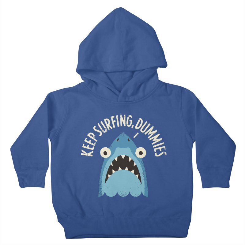 Great White Snark Kids Toddler Pullover Hoody by David Olenick