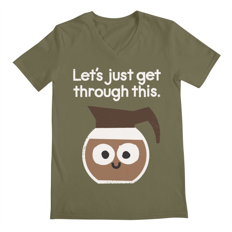 Grounds For Determination Men's V-Neck by David Olenick