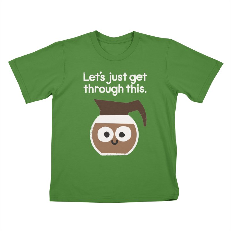 Grounds For Determination Kids T-shirt by David Olenick