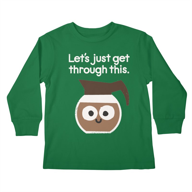 Grounds For Determination Kids Longsleeve T-Shirt by David Olenick