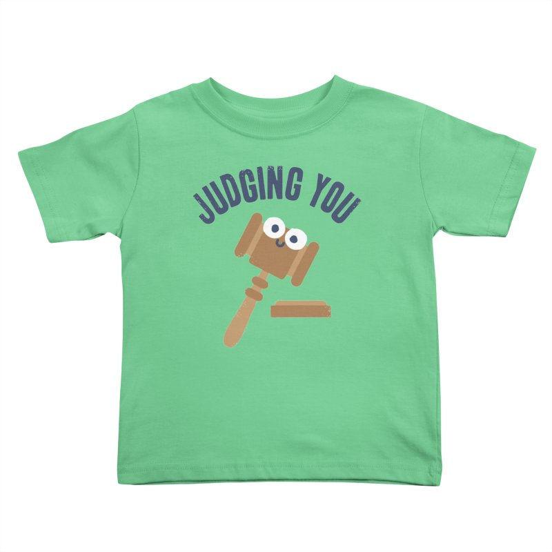 Held In Contempt Kids Toddler T-Shirt by David Olenick