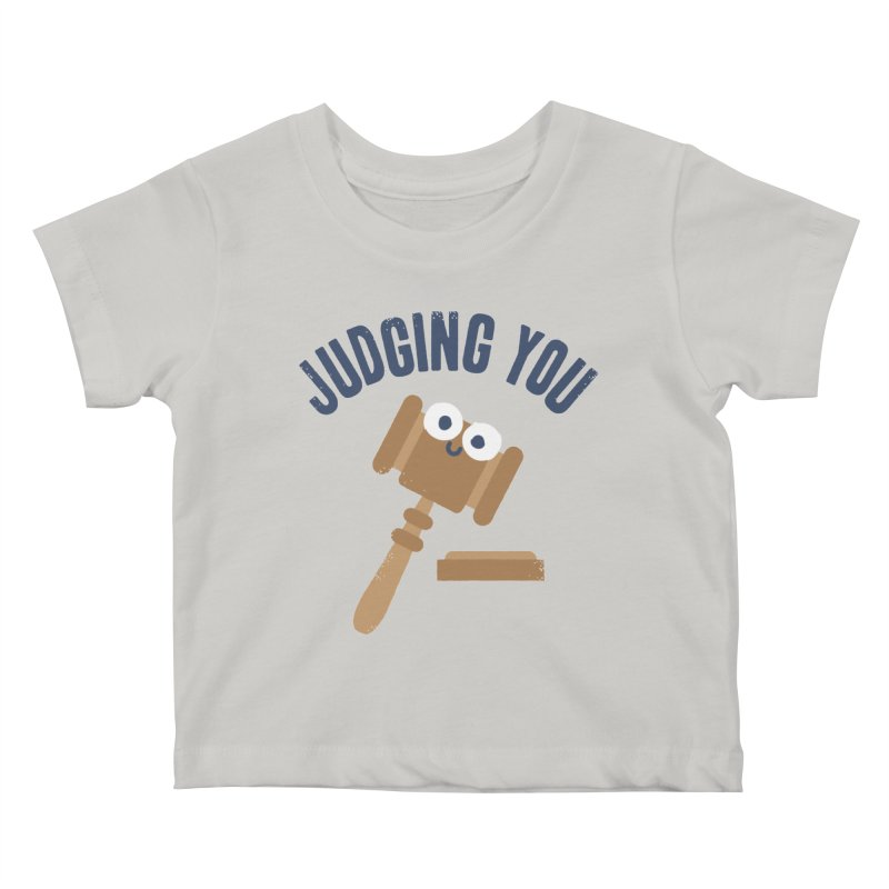 Held In Contempt Kids Baby T-Shirt by David Olenick