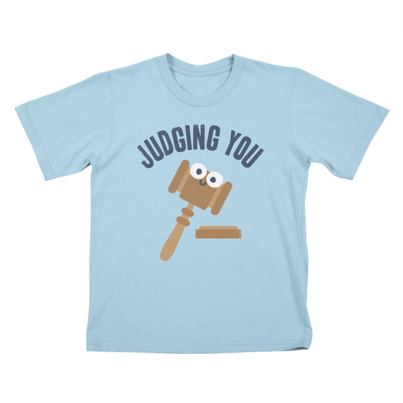 Held In Contempt Kids T-shirt by David Olenick
