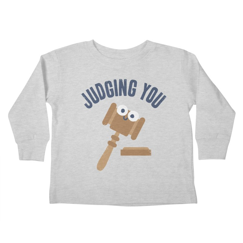 Held In Contempt Kids Toddler Longsleeve T-Shirt by David Olenick