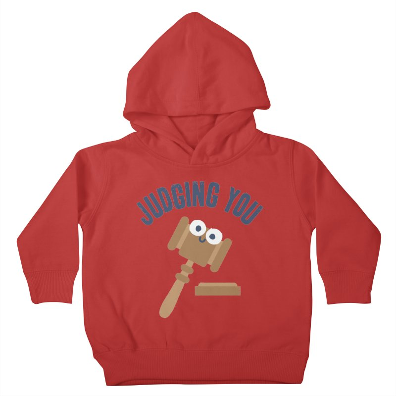 Held In Contempt Kids Toddler Pullover Hoody by David Olenick