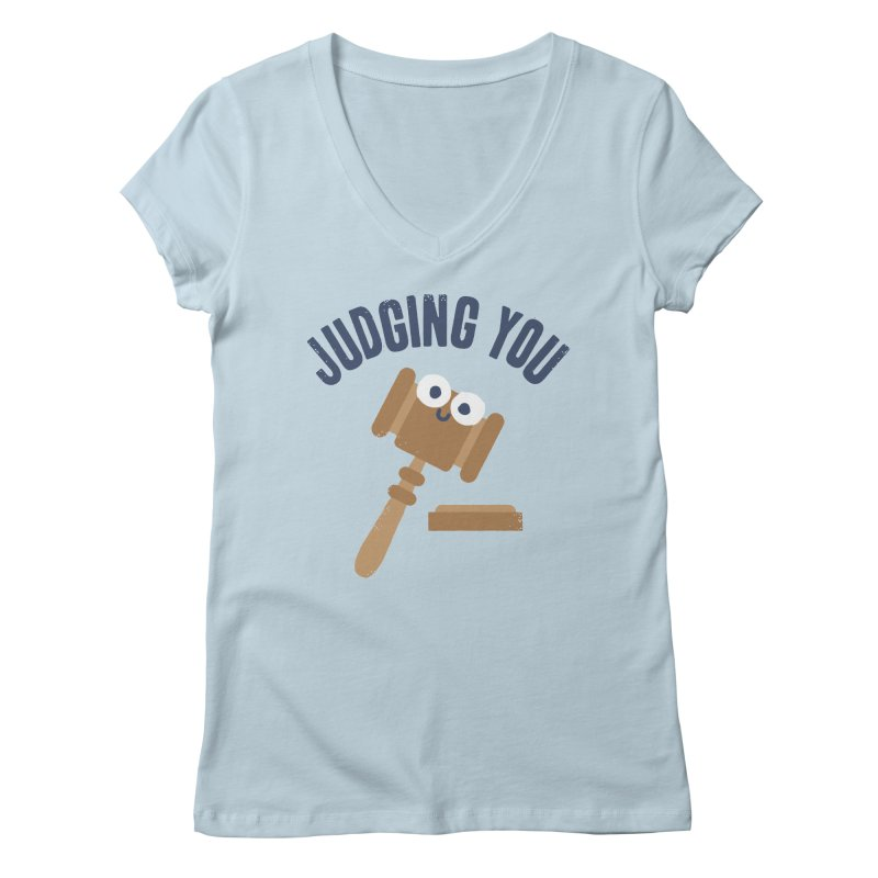 Held In Contempt Women's V-Neck by David Olenick