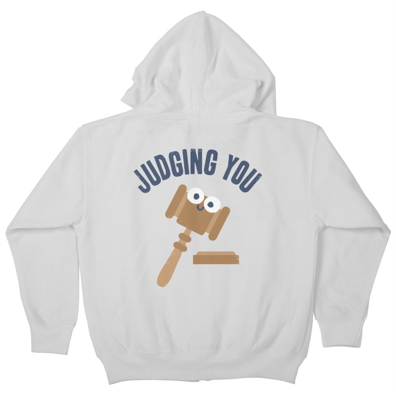 Held In Contempt Kids Zip-Up Hoody by David Olenick