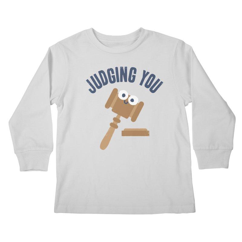 Held In Contempt Kids Longsleeve T-Shirt by David Olenick