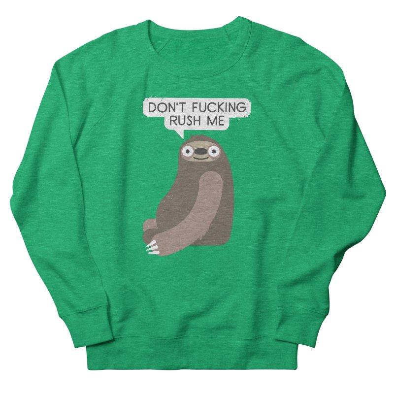 No Hurries Men's Sweatshirt by David Olenick