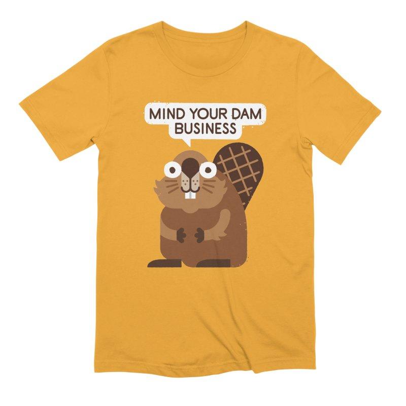 Building Boundaries Men's Extra Soft T-Shirt by David Olenick
