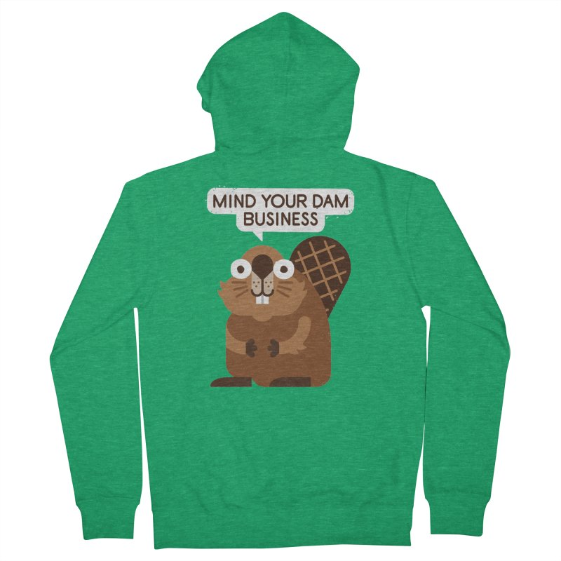 Building Boundaries Women's French Terry Zip-Up Hoody by David Olenick