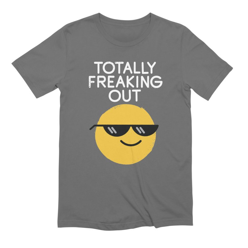 Froze Colored Glasses Men's T-Shirt by David Olenick
