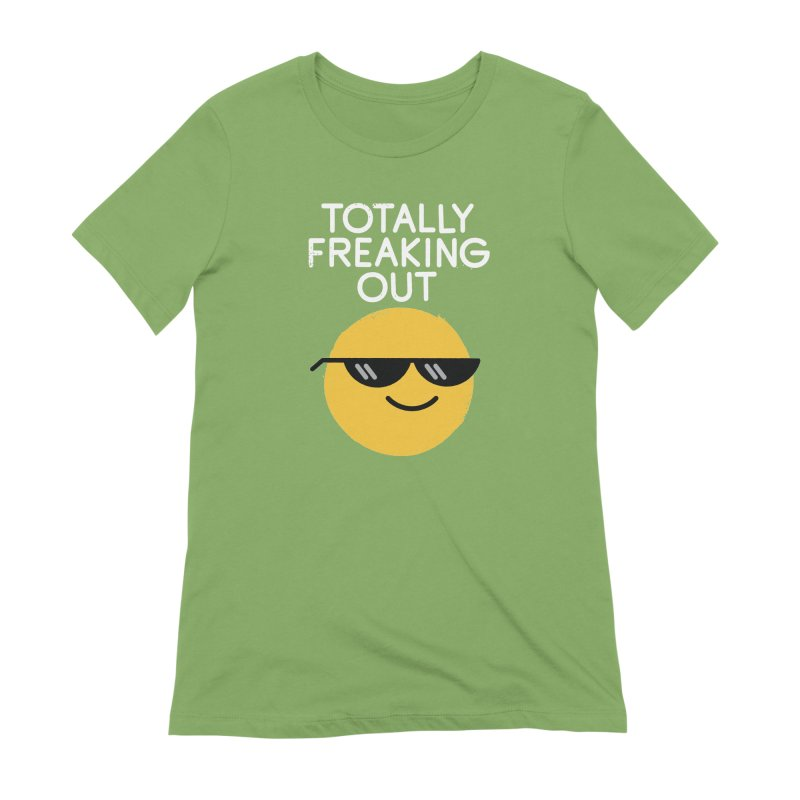 Froze Colored Glasses Women's Extra Soft T-Shirt by David Olenick