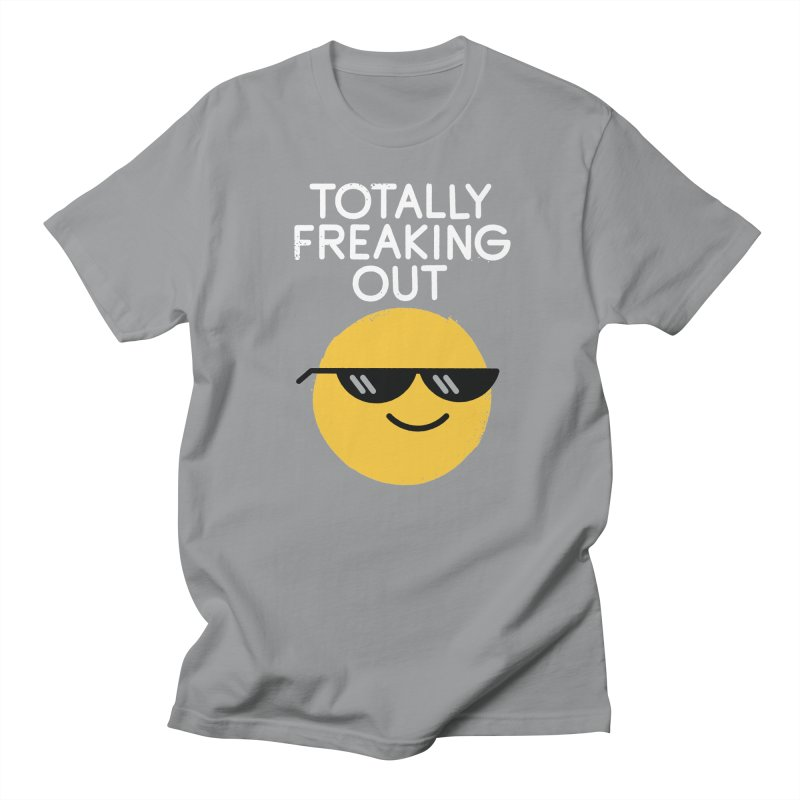 Froze Colored Glasses Men's Regular T-Shirt by David Olenick