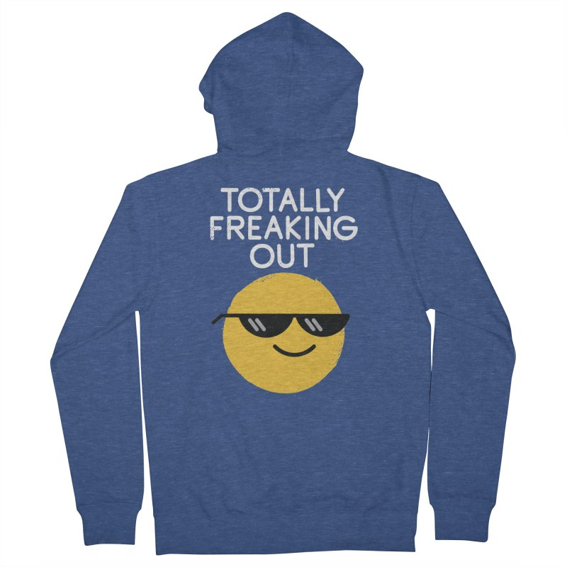 Froze Colored Glasses Women's Zip-Up Hoody by David Olenick