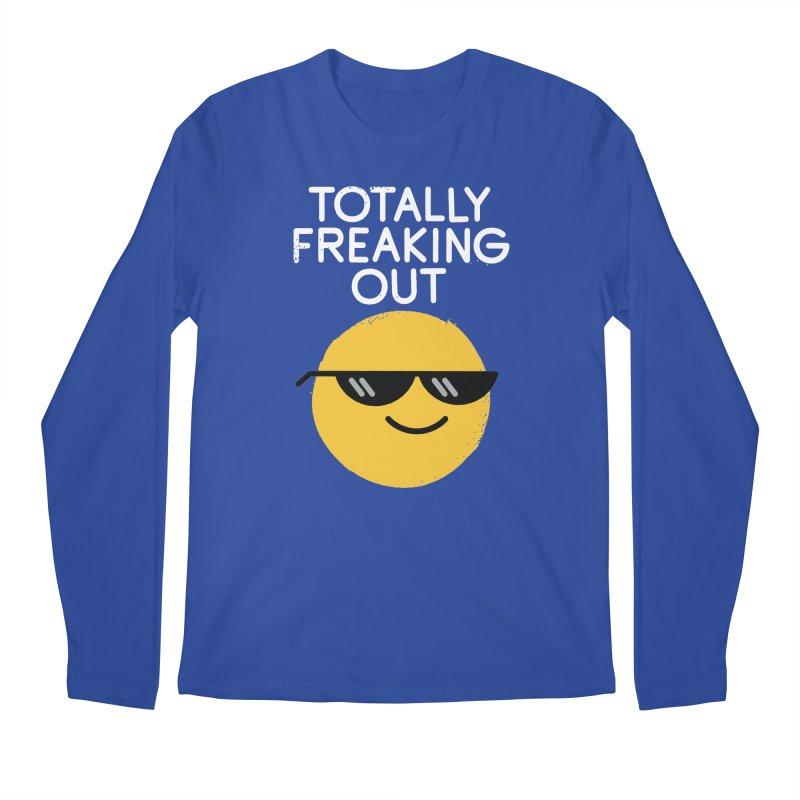 Froze Colored Glasses Men's Regular Longsleeve T-Shirt by David Olenick
