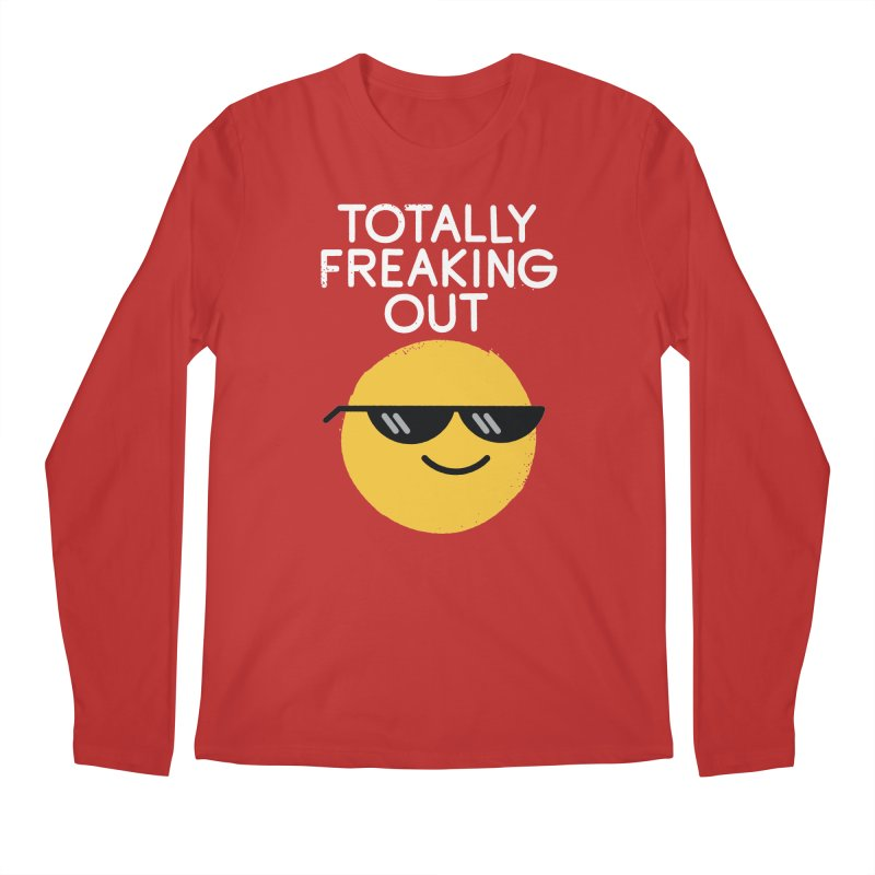Froze Colored Glasses Men's Regular Longsleeve T-Shirt by David Olenick