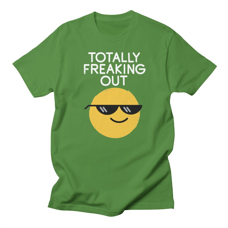 Froze Colored Glasses Women's Regular Unisex T-Shirt by David Olenick