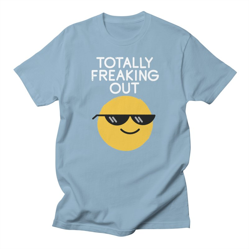 Froze Colored Glasses Women's T-Shirt by David Olenick