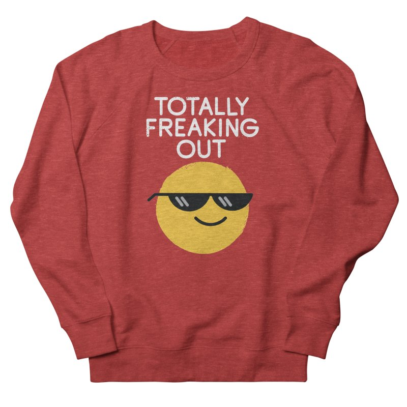 Froze Colored Glasses Women's French Terry Sweatshirt by David Olenick