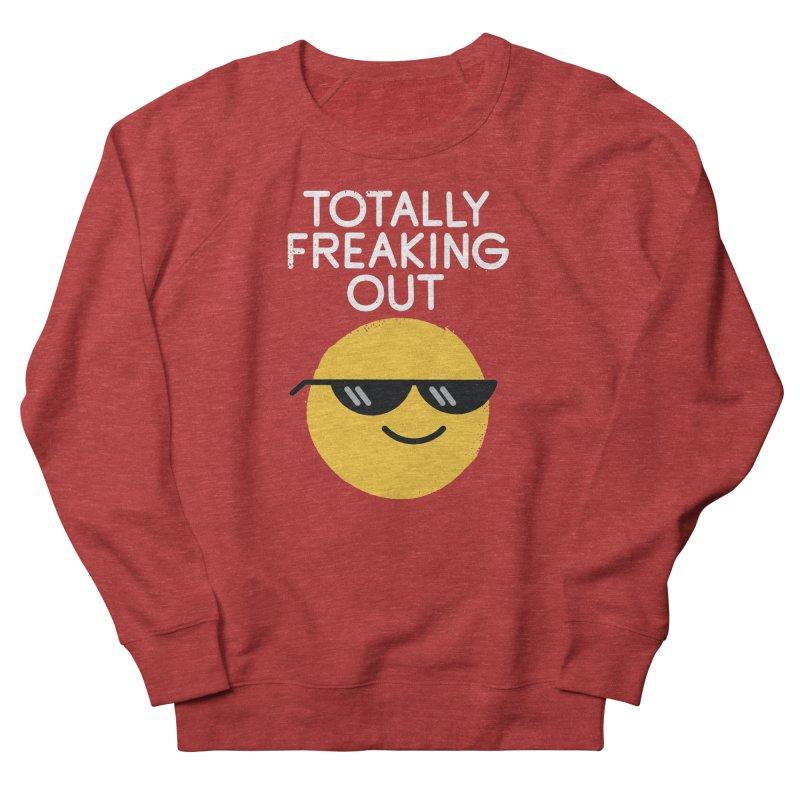 Froze Colored Glasses Men's Sweatshirt by David Olenick