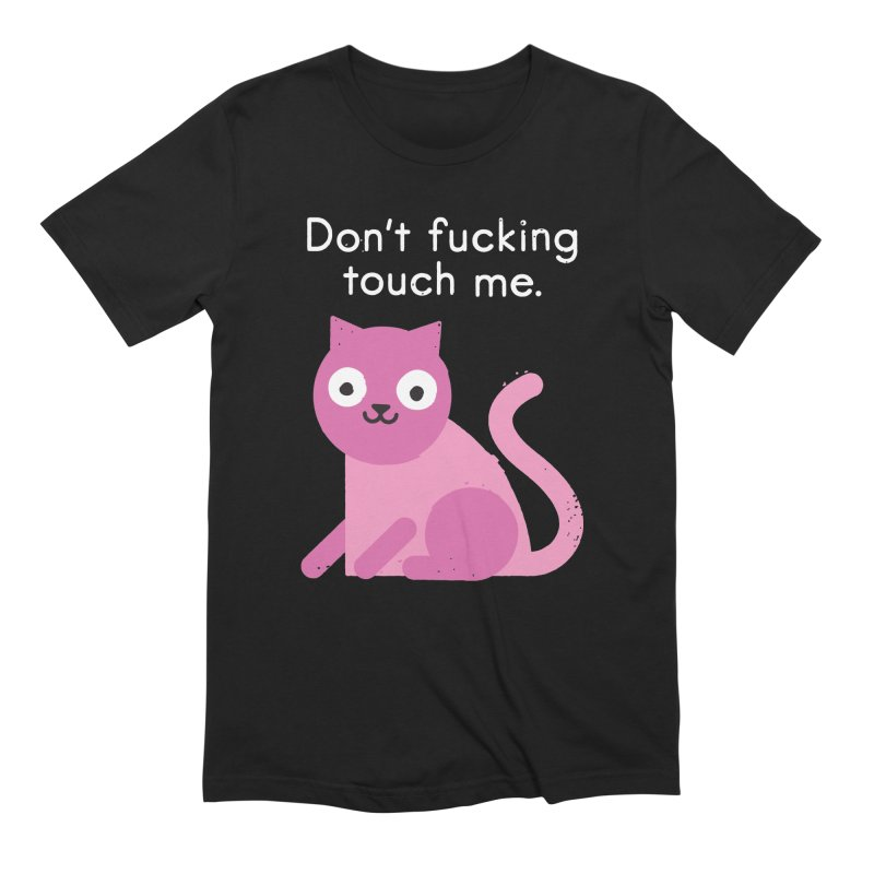 Purrsonal Space Men's Extra Soft T-Shirt by David Olenick