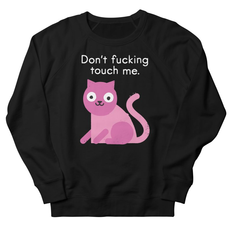 Purrsonal Space Women's French Terry Sweatshirt by David Olenick