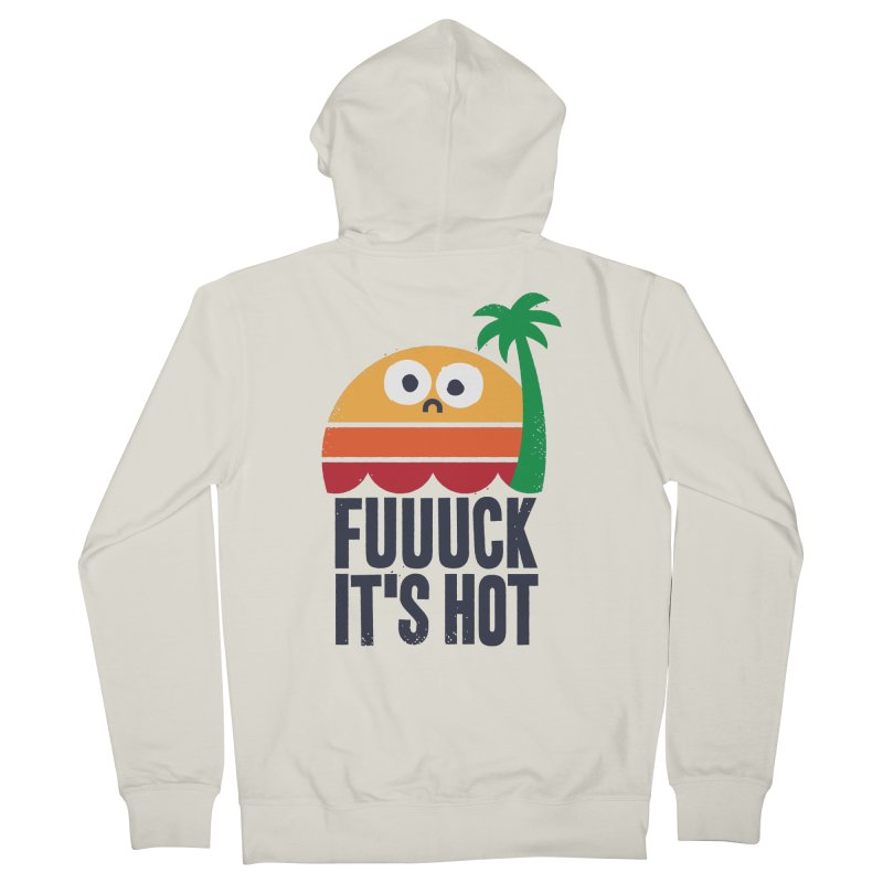 Heated Rhetoric Women's French Terry Zip-Up Hoody by David Olenick