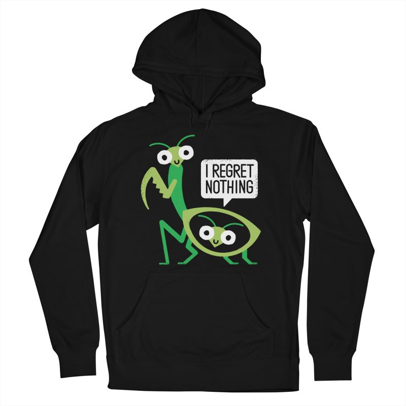 When a Mantis Loves a Woman Women's French Terry Pullover Hoody by David Olenick
