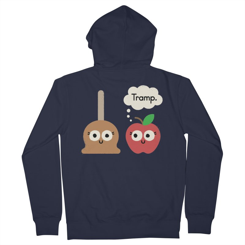 Apple Jelly Women's French Terry Zip-Up Hoody by David Olenick
