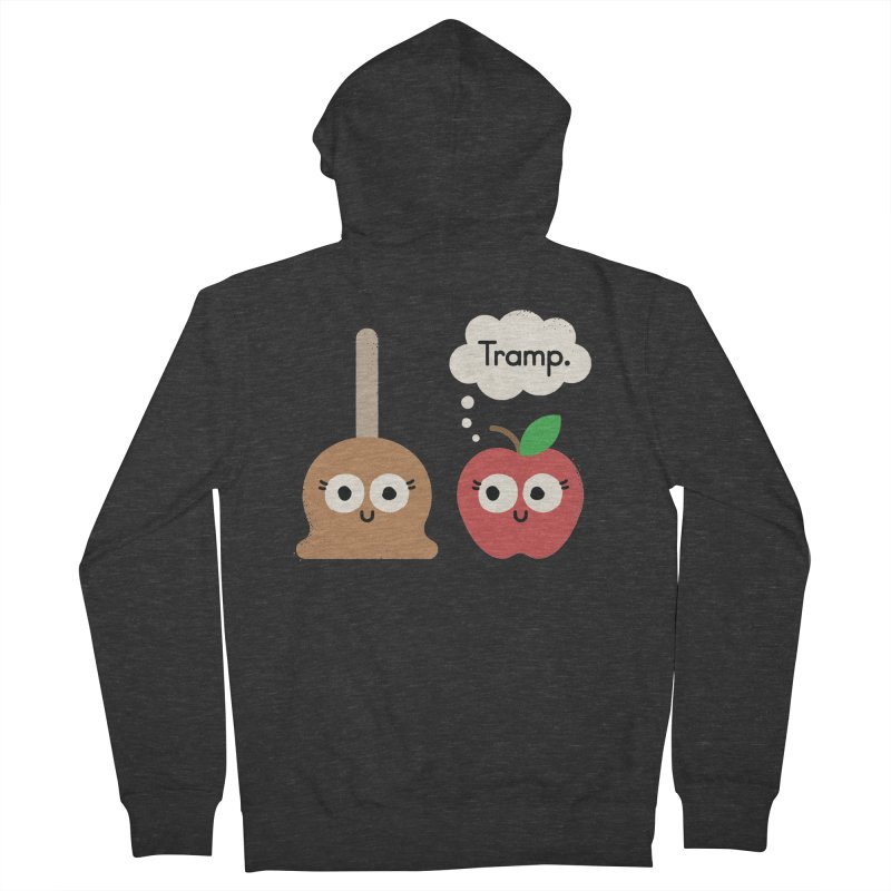 Apple Jelly Men's French Terry Zip-Up Hoody by David Olenick