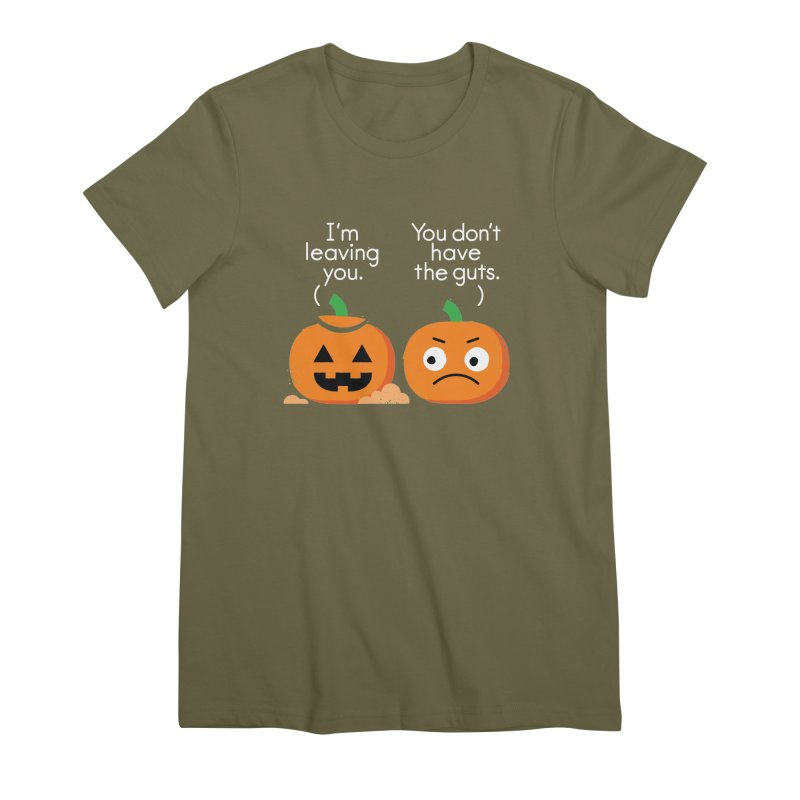 Gourd Riddance Women's Premium T-Shirt by David Olenick
