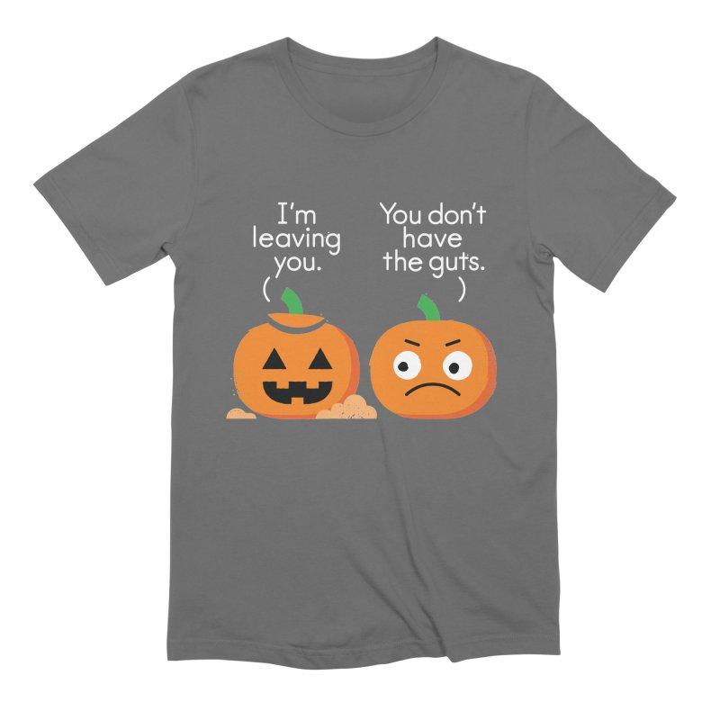 Gourd Riddance Men's Extra Soft T-Shirt by David Olenick