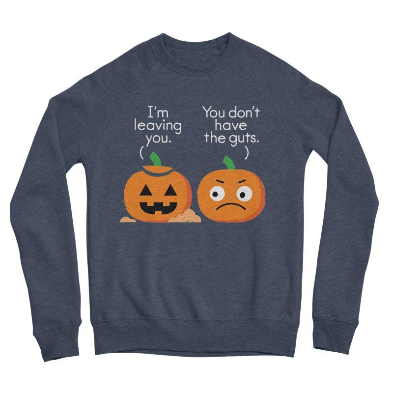 Gourd Riddance Women's Sponge Fleece Sweatshirt by David Olenick