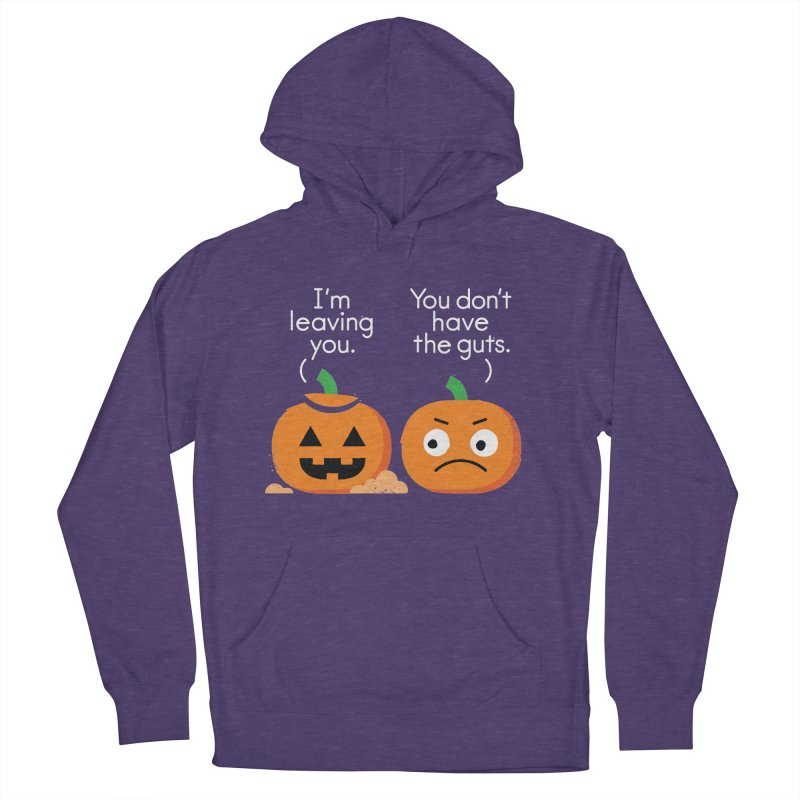Gourd Riddance Women's French Terry Pullover Hoody by David Olenick