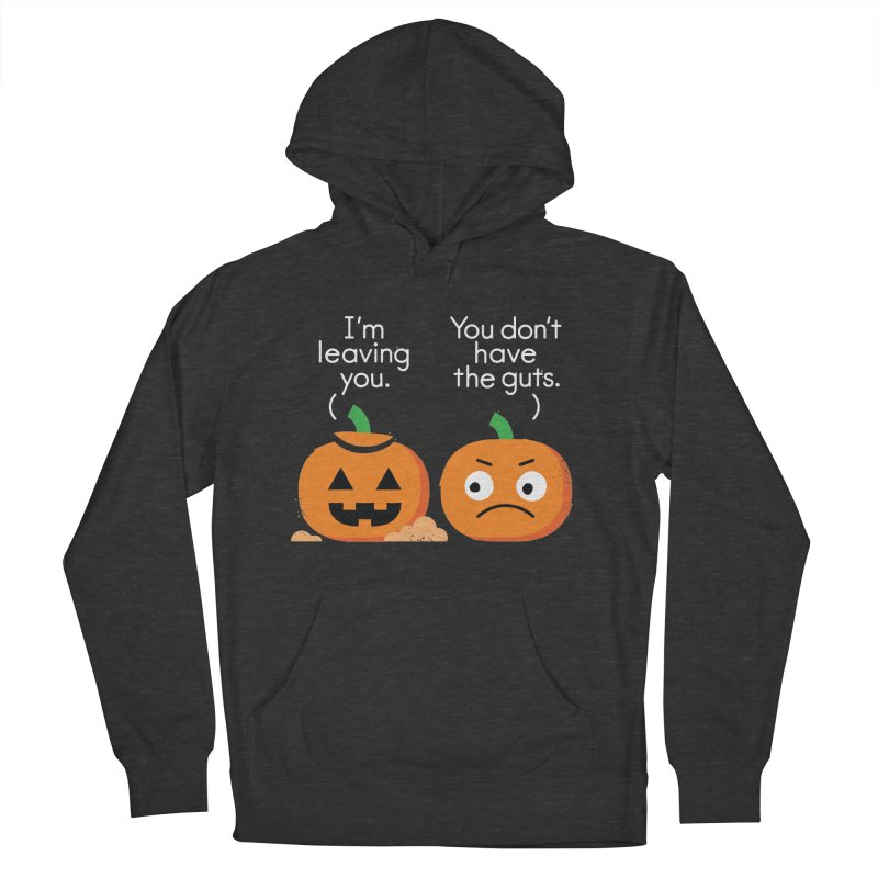 Gourd Riddance Men's French Terry Pullover Hoody by David Olenick