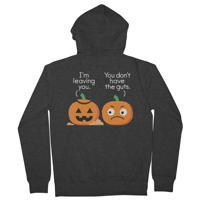 Gourd Riddance Women's French Terry Zip-Up Hoody by David Olenick