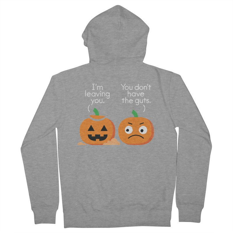 Gourd Riddance Men's French Terry Zip-Up Hoody by David Olenick